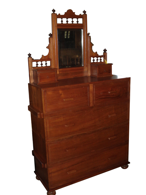 Grandis Antique Wooden Furniture : 53 Teak wood chest of drawers with mirror from www.grandiswood.com size 480 x 640 png 198kB